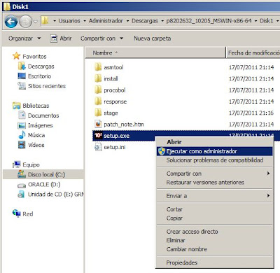 arrancar listener oracle windows