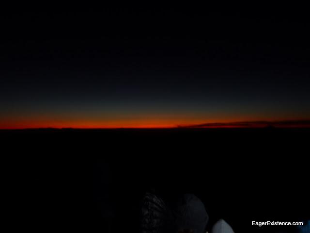 first light of dawn, mt. sinai