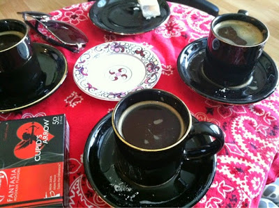 Turkish coffee, coffee, party,