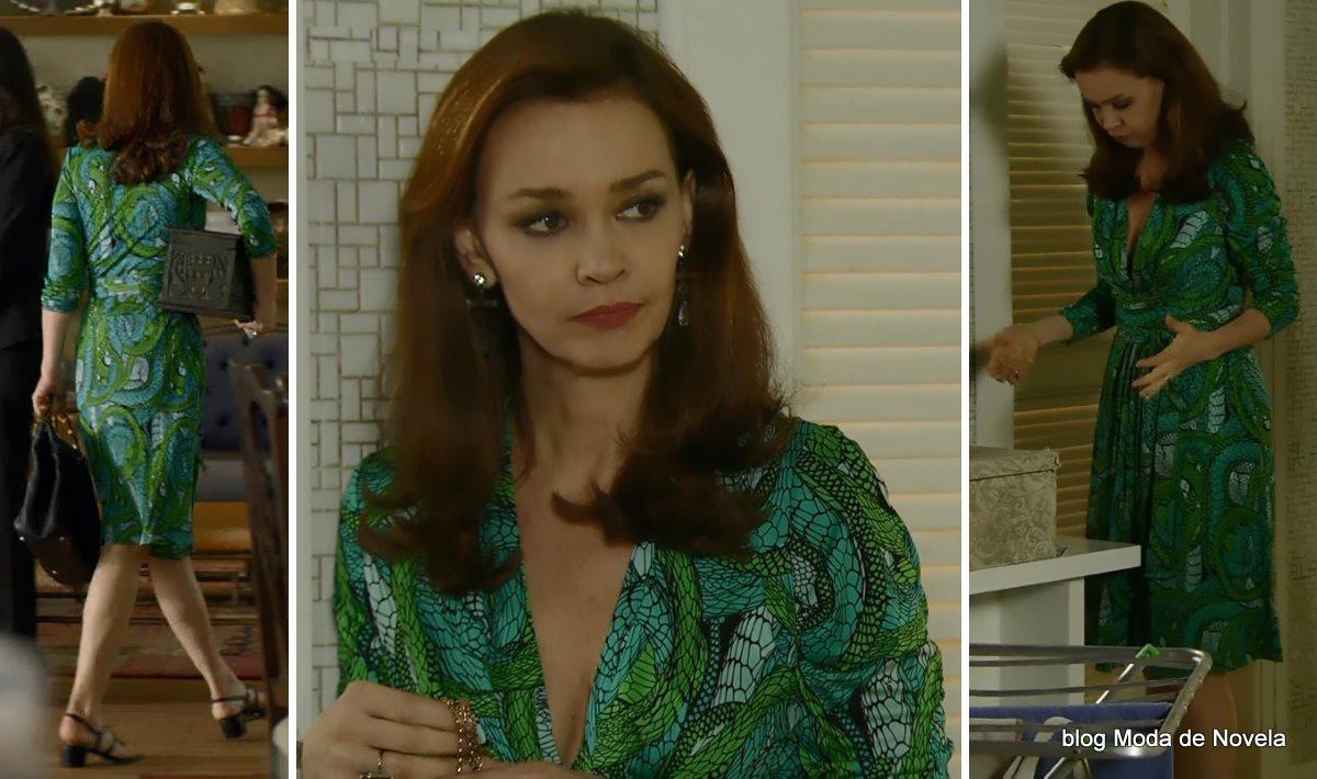 moda da novela Em Família - look da Helena dia 9 de junho