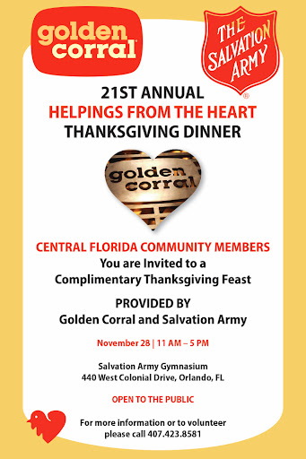 Golden Corral Helpings from the Heart
