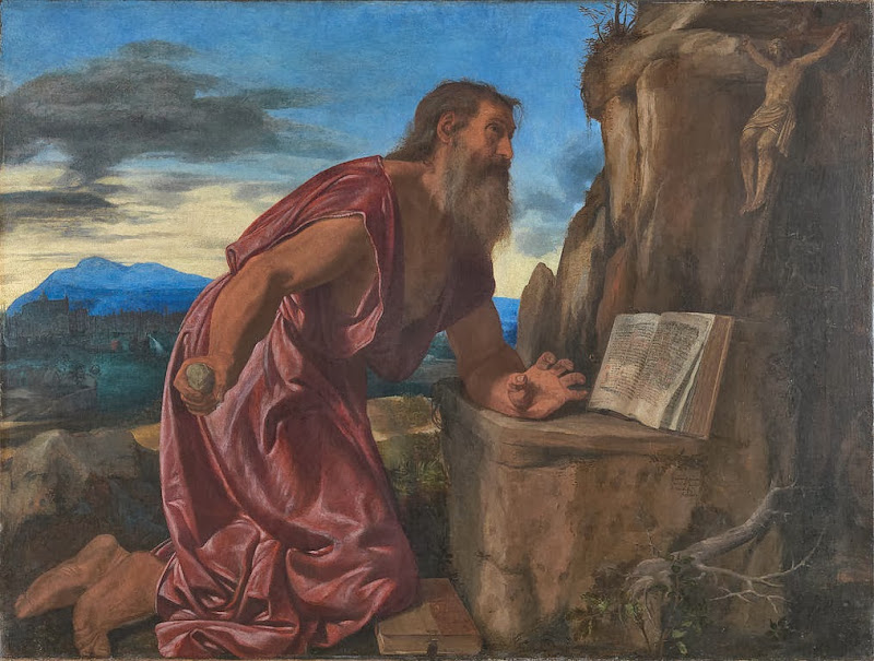 Giovanni Gerolamo Savoldo - Saint Jerome - Google Art Project