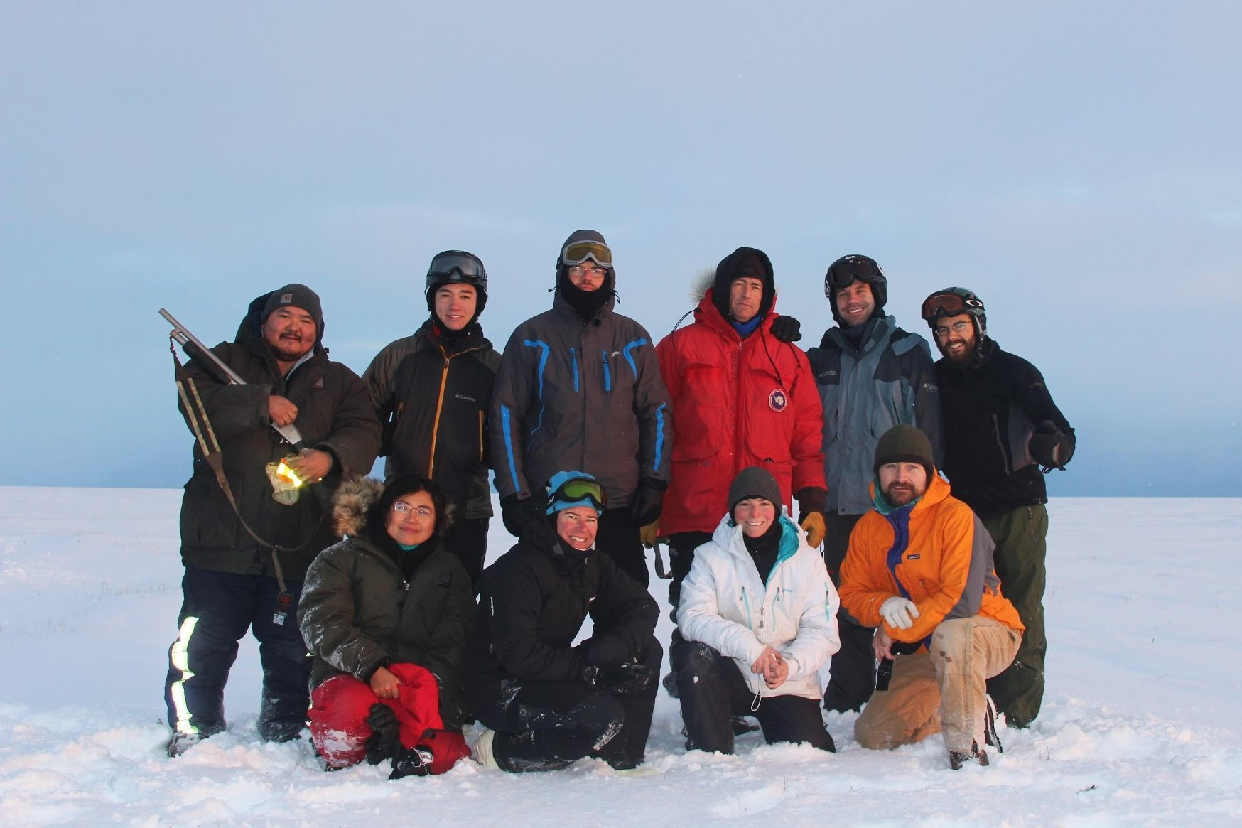 October 2010 Arctic field team (included are John Priscu and Yongqin Liu from the Priscu Lab).