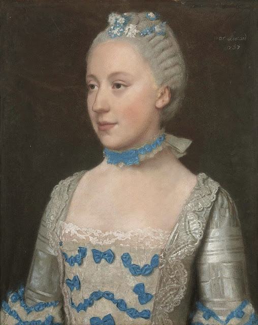 Jean-Etienne Liotard - Portrait of Madame Saint Pol
