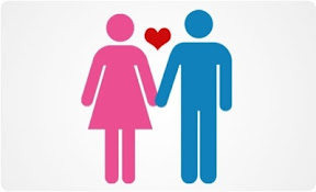 male and female love