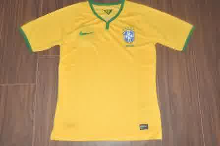 Jual Jersey Brazil Piala Dunia 2014 Home