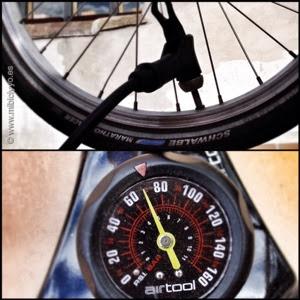 presion de ruedas de bicicleta