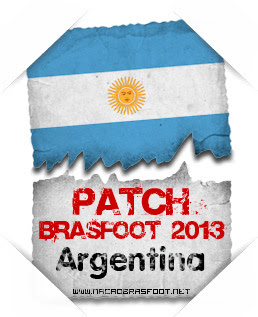 Patch Argentina Brasfoot 2013