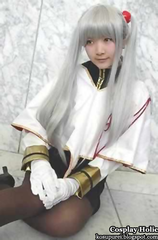 martian successor nadesico: the prince of darkness cosplay - hoshino ruri