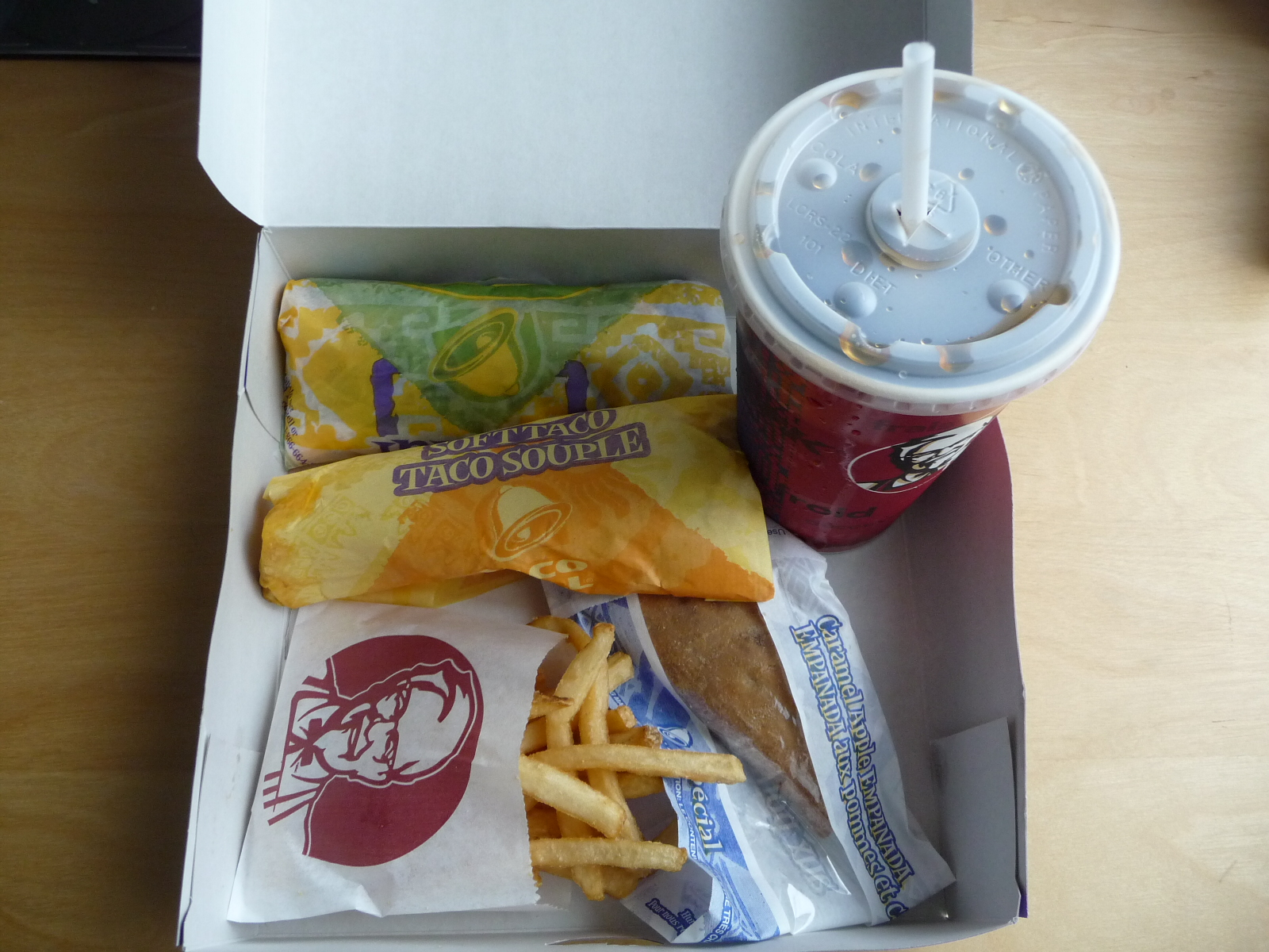 New 5 Dollar Box For Taco Bell