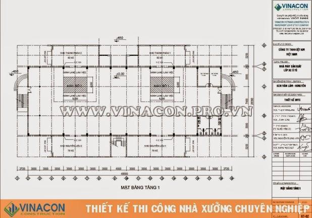 Thiết kế nhà xưởng Nhà máy lốp Ô tô K90