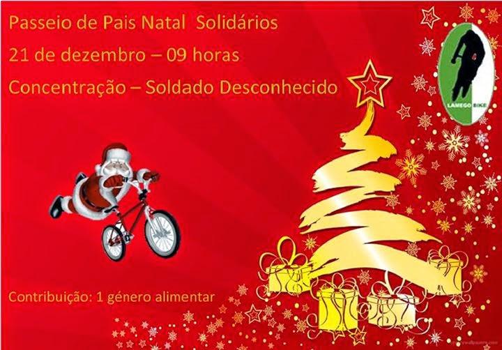 Passeio de Pais Natal Solidários - Lamego - 21 de Dezembro