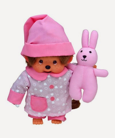 Monchhichi Chicaboo with bunny