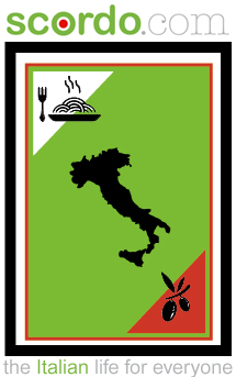 logo for Scordo Italian food and recipes