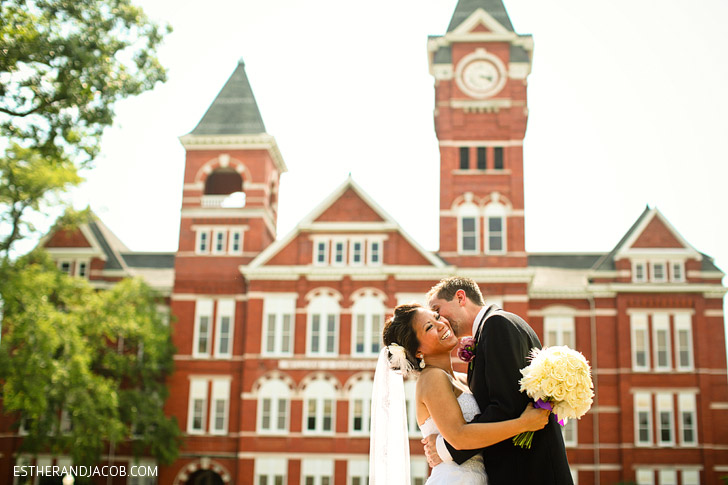 Auburn University Wedding | What to See in Alabama.