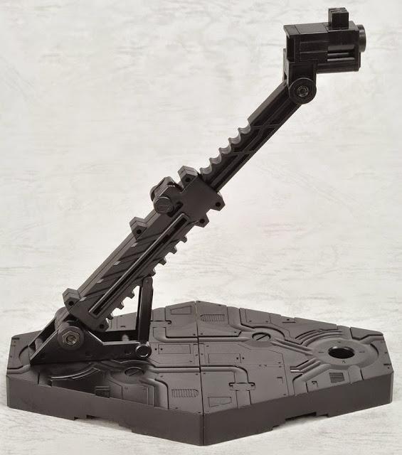 Chân đế dựng mô hình Gundam Action Base 2 Black điều chỉnh theo các hướng