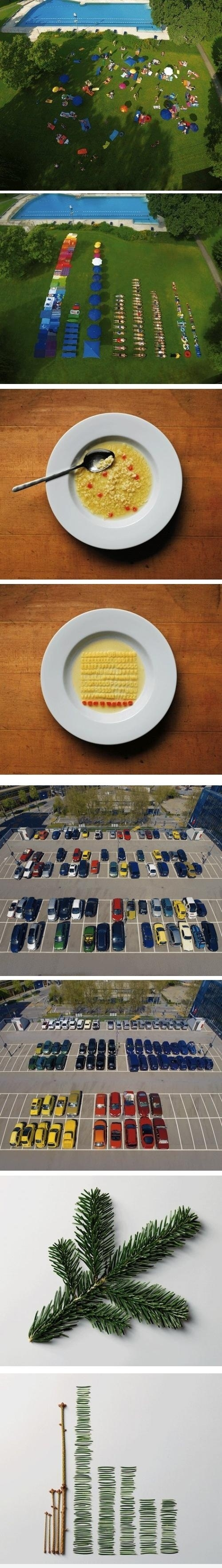 Rearranged - People, Car, Leaves
