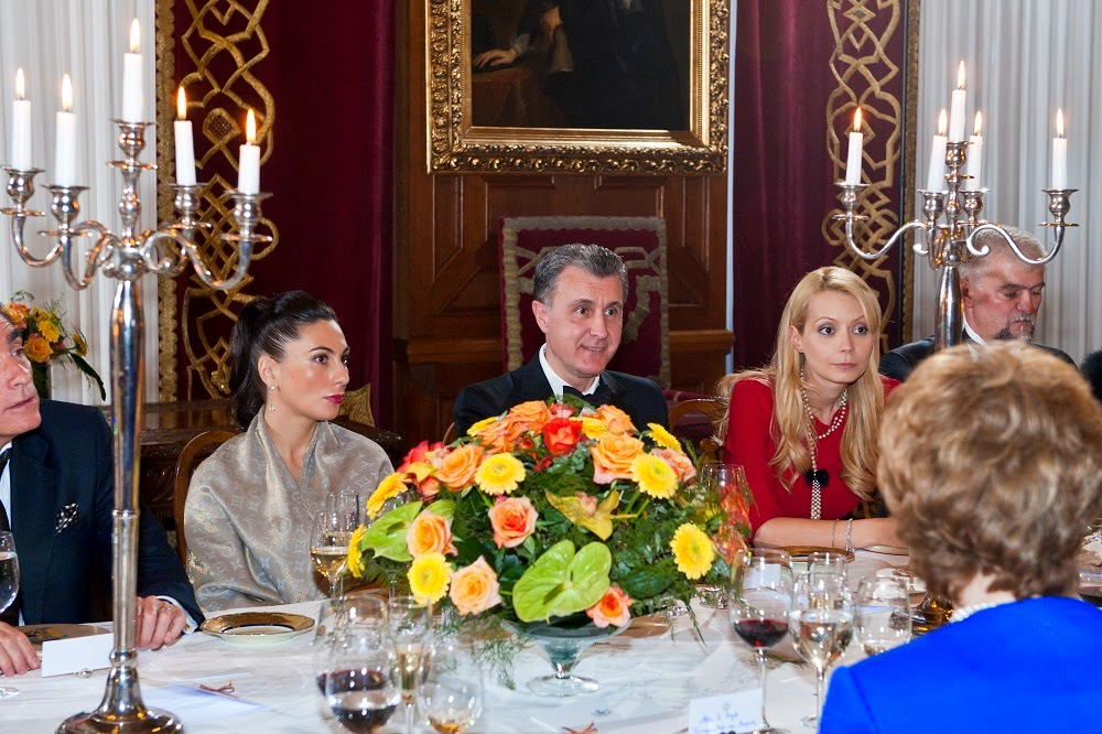 Dineu la Castelul Peleș cu ocazia de 150 de ani a Senatului României