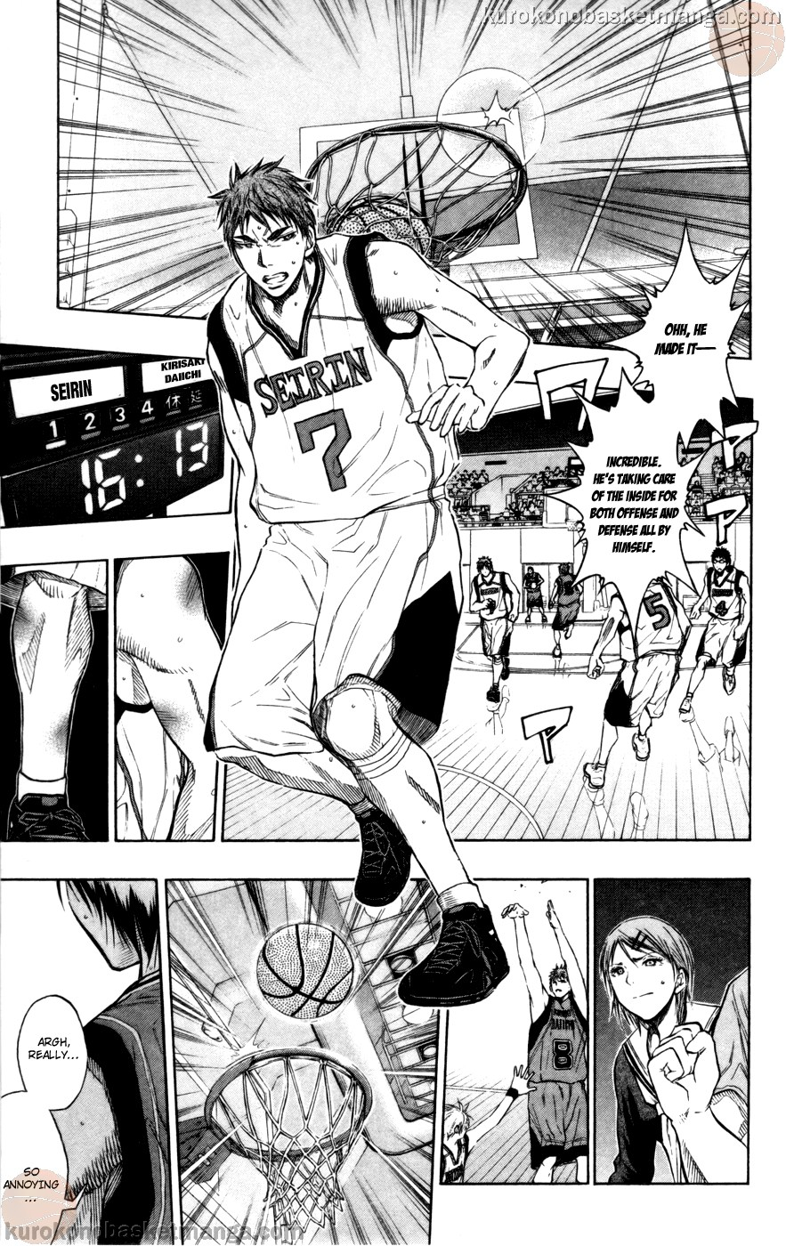 Kuroko no Basket Manga Chapter 102 - Image 13