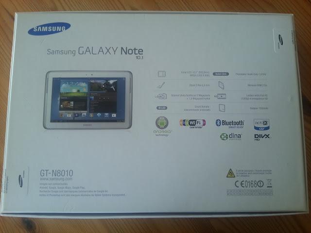 Le test de la samsung galaxy note 10 1 - Tablette samsung 50 euros ...