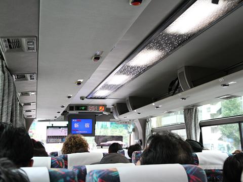 京王バス東「中央高速バス富士五湖線」 K60254 車内