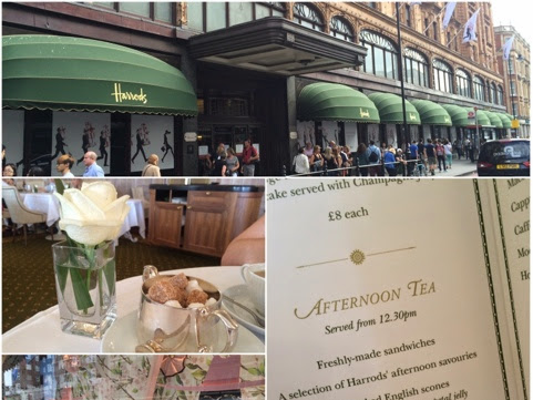 What Cat Did: Afternoon Tea @ Harrods