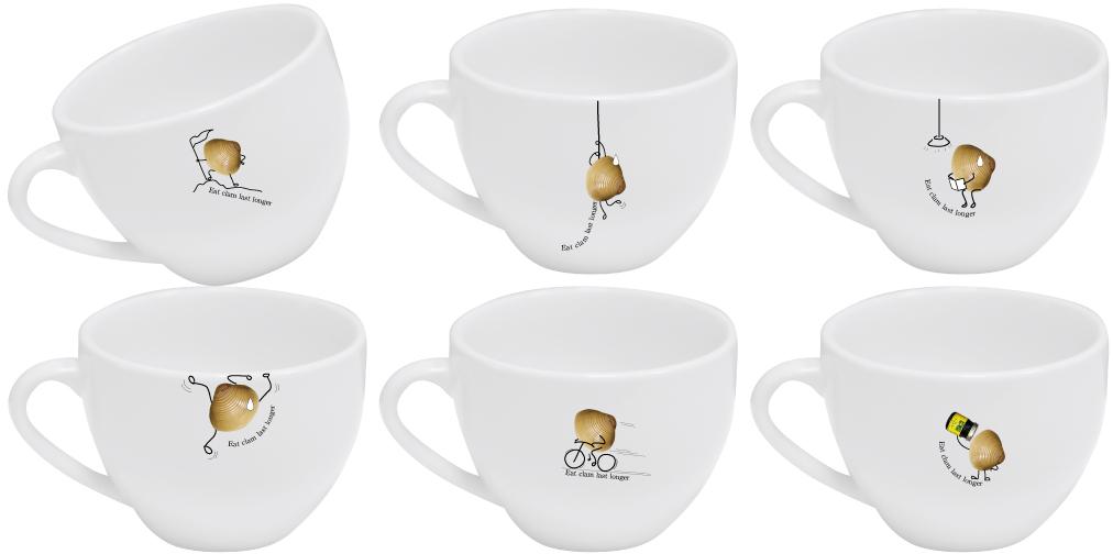 黃金蜆咖啡杯組-立川漁場