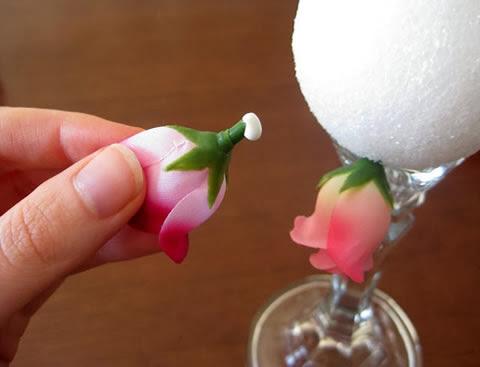 Passe cola na flor