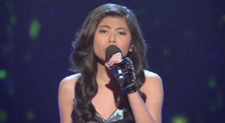 """""""Hopelessly Devoted To You"""" sang by Marlisa Punzalan on The X-Factor Australia"""