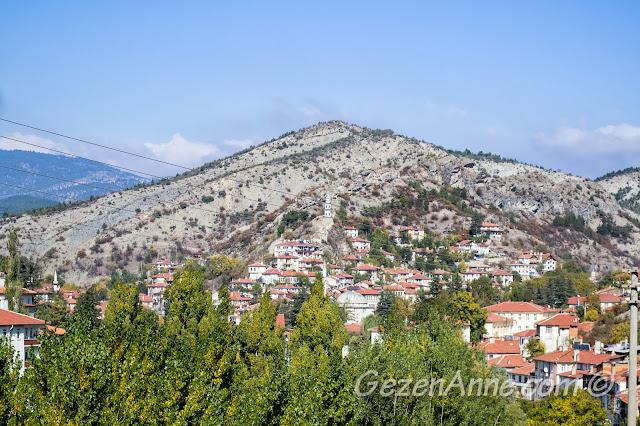 uzaktan Göynük manzarası, Bolu
