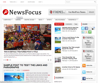 NewsFocus – by Fthemes