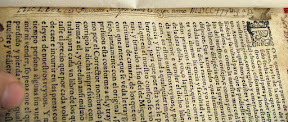 Anotación manuscrita con la fecha 1738. No creo que sea la fecha de encuadernación sino que es anterior
