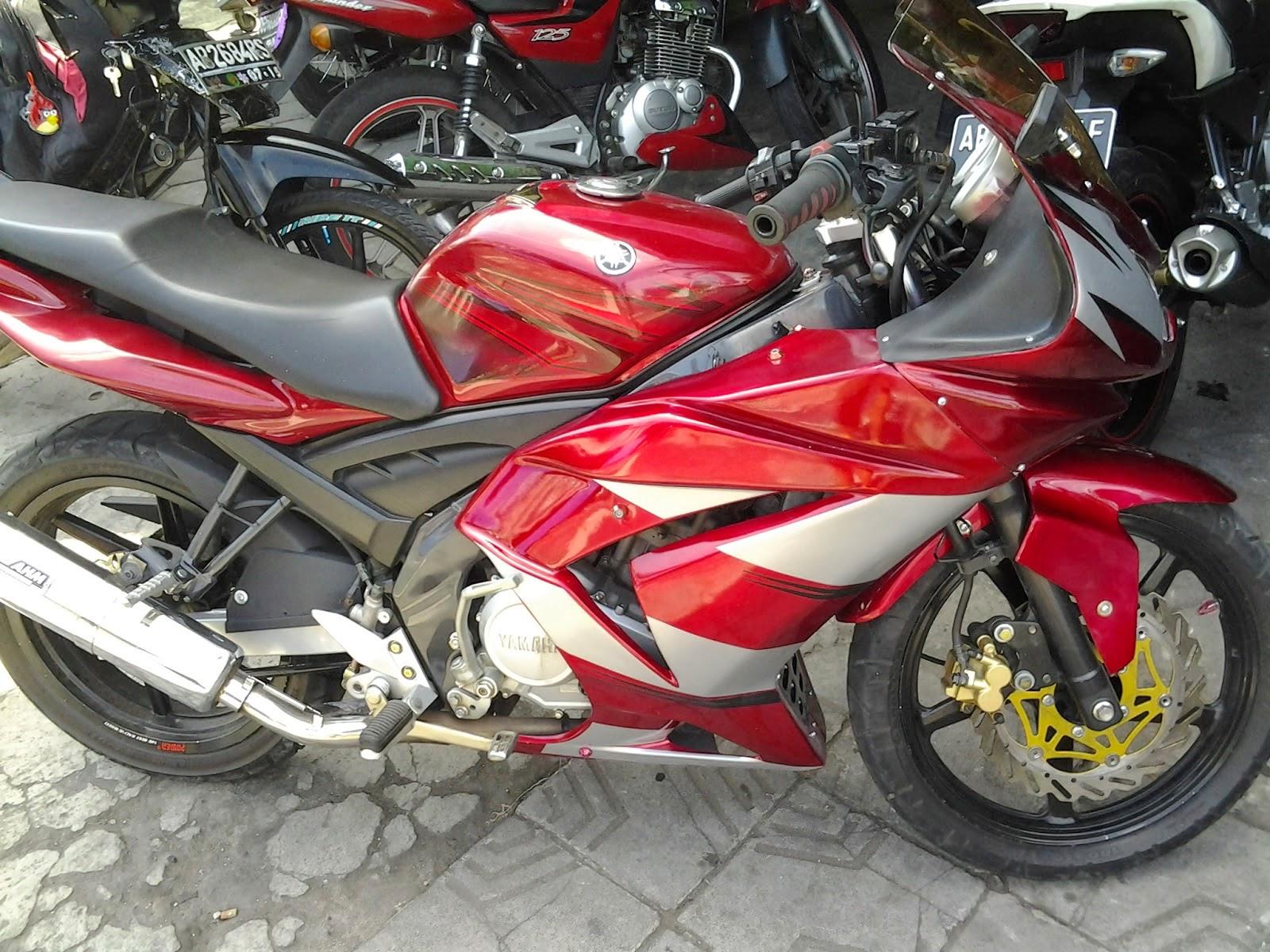 Cara Modif Yamaha New Vixion