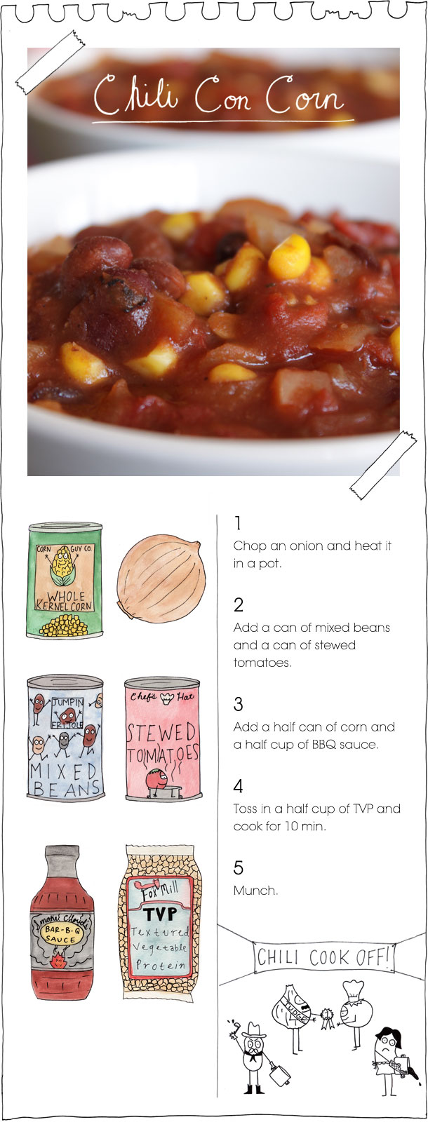 The Vegan Stoner's Chili Con Corn