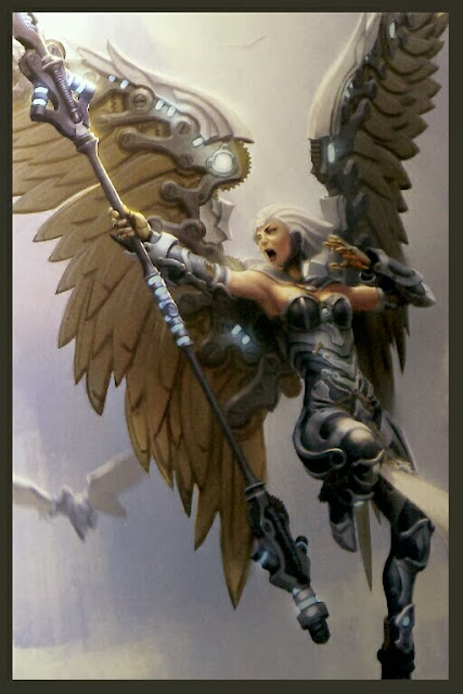 AURORA, Warcaster de Convergence of Cyriss