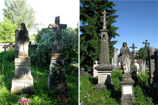 Old cemetery in Rohatyn