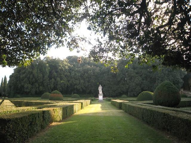 Horti Leonini Renaissance garden in San Quirico d'Orcia