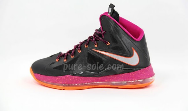 First Official Look at Nike LeBron X Miami Floridians 541100005