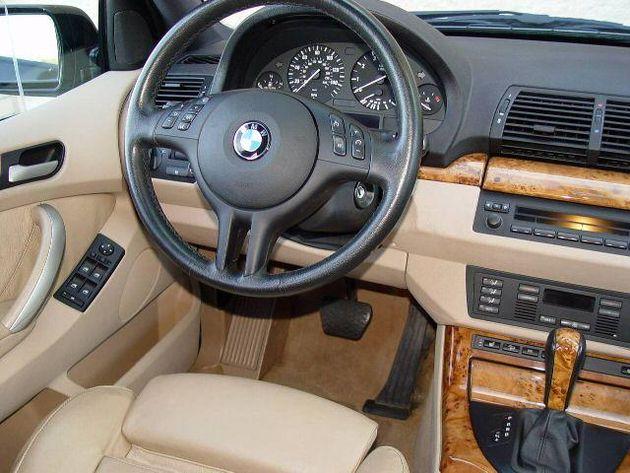 Bmw X5 2003 Interior