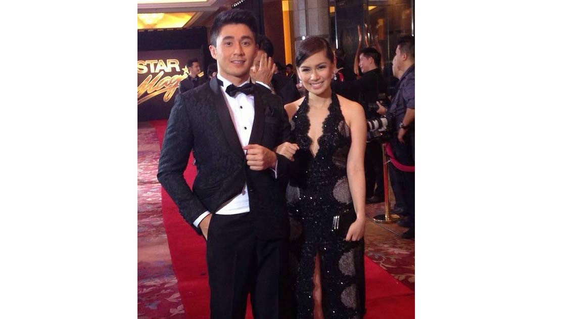 Arron Villaflor and Yen Santos