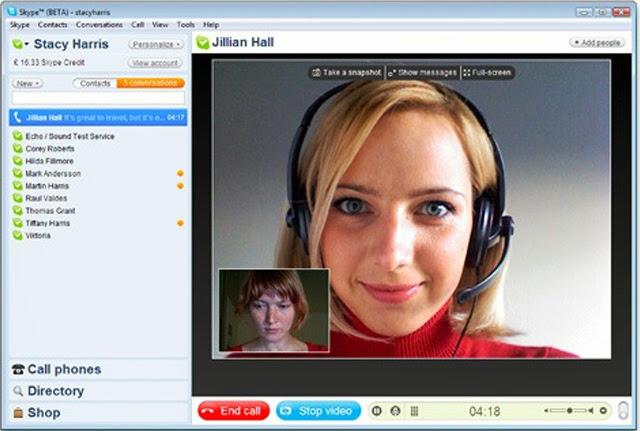 Skype estudia la posibilidad de implementar llamadas en 3D