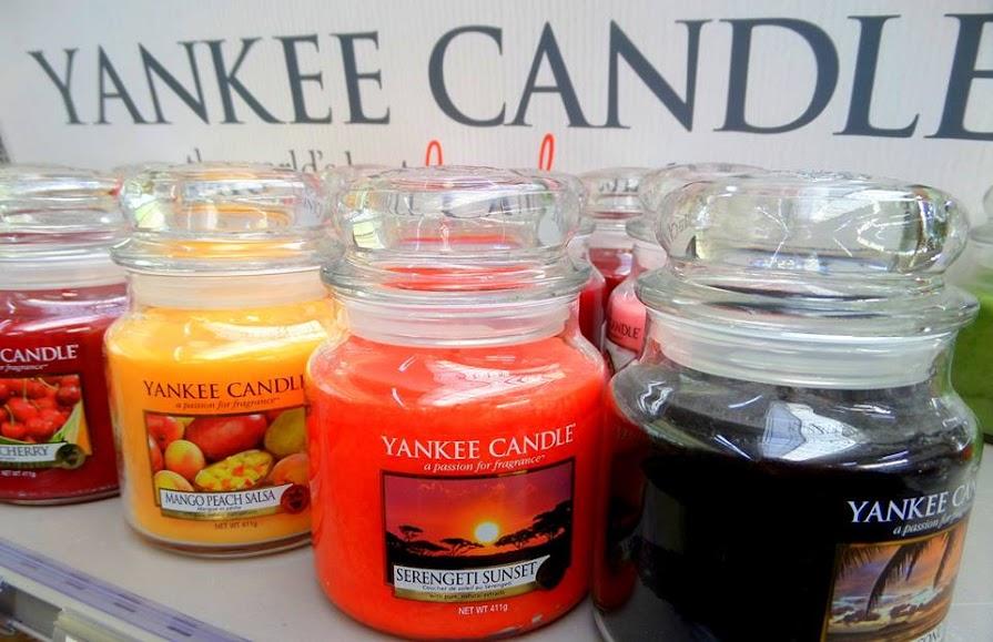 Enfin, elles sont là, les bougies Yankee Candle  ~ Truffaut La Ville Du Bois