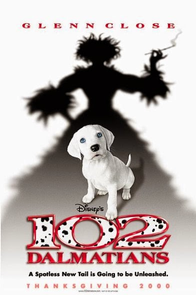 Poster Of 102 Dalmatians (2000) Full Movie Hindi Dubbed Free Download Watch Online At Alldownloads4u.Com