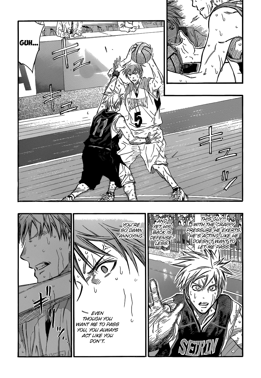 Kuroko no Basket Manga Chapter 250 - Image 13