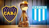 Boca juniors Racing vivo online final Copa Argentina