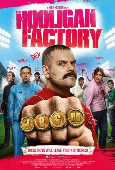 Poster Of English Movie The Hooligan Factory (2014) Free Download Full New Hollywood Movie Watch Online At Alldownloads4u.Com