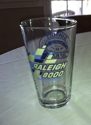 Raleigh 8000 Pint Glass