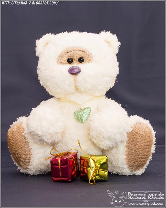 Амигуруми, вязаные игрушки, игрушки спицами, игрушки крючком, вязаный мишка, мишка спицами, Amigurumi, crocheted toys, Knitted toys, Knitted bear