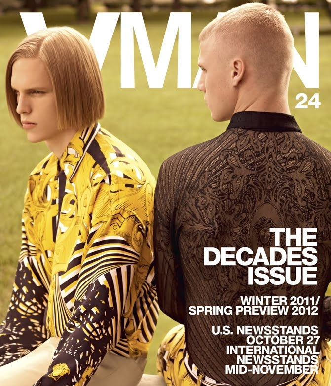 Tim Devos + Collin Tennant by Karim Sadli for VMAN mag #24, November 2011
