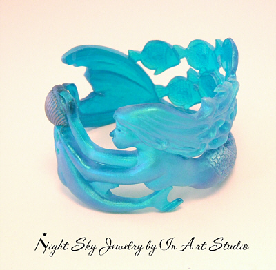 Mermaid Bracelet in Turquoise